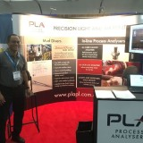 PLA's exhibit at the 2017 TMS conference and expo