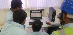 Tank profile and level measurement sent via high speed ethernet radia link