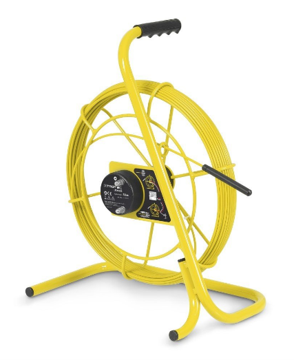 Portable mud diver reel