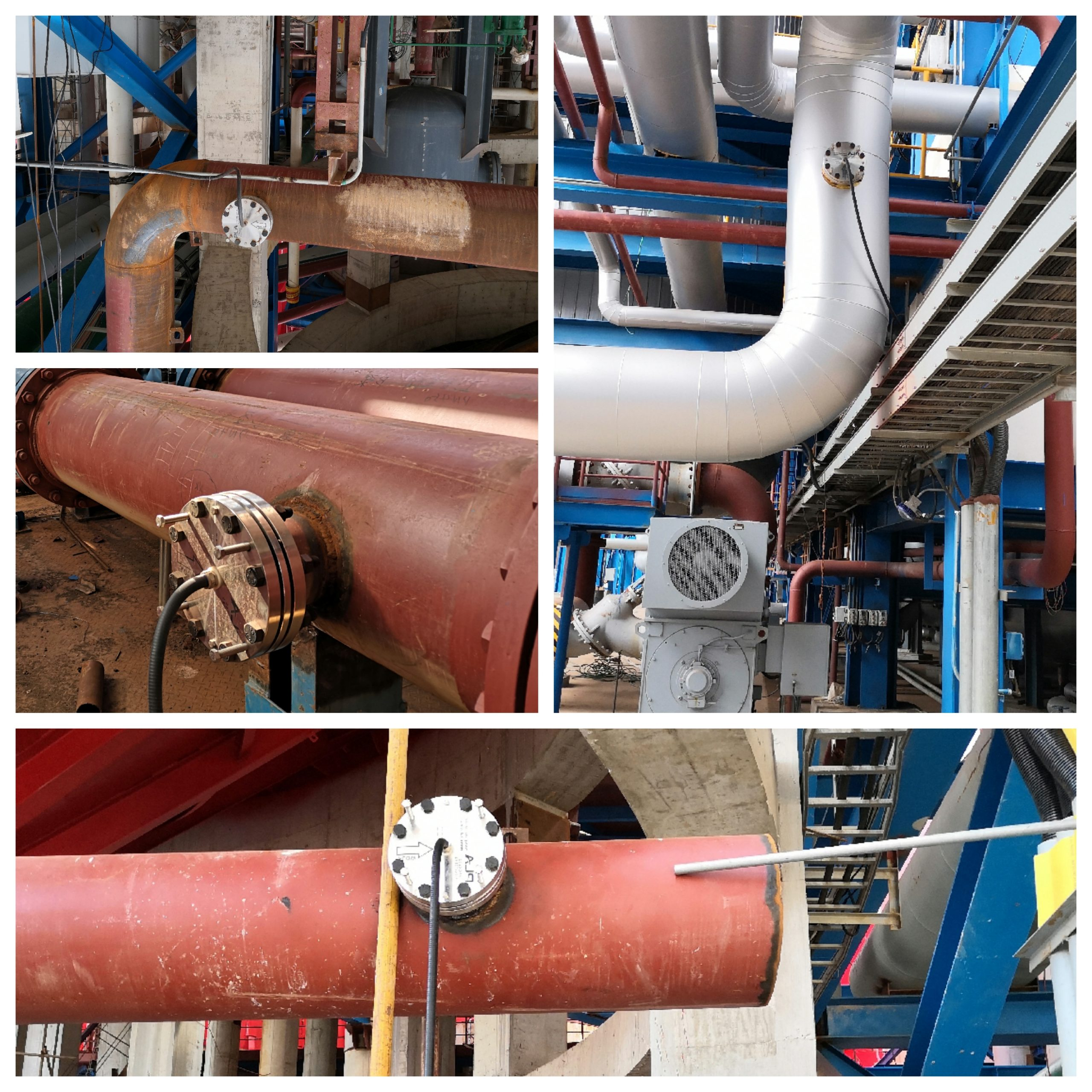 AL-DCIK A/C ratio meters installed at Chalco's plant