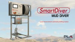 SmartDiver level measurement and tank profiling for thickeners