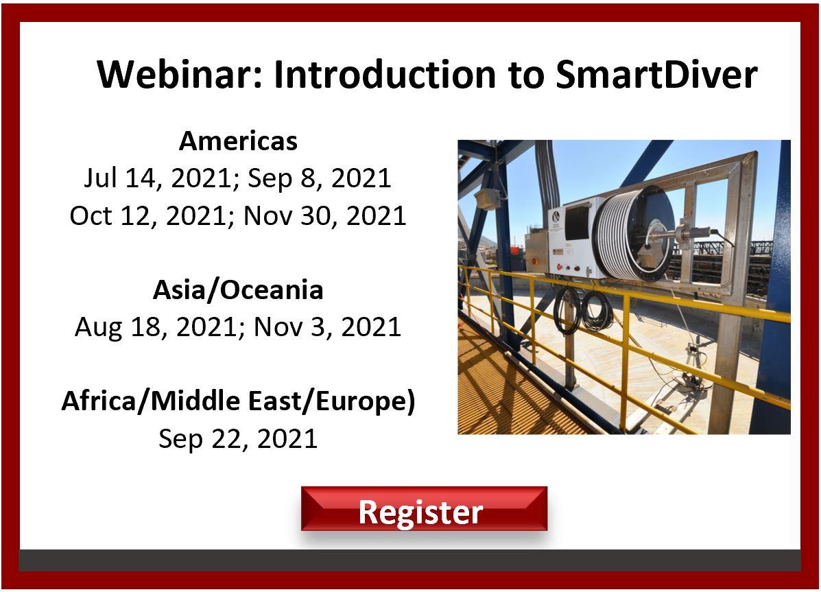 SmartDiver upcoming webinar